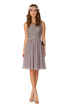 LANICO One Shoulder Knee Length Cocktail BridesmaidDress - LN2001K