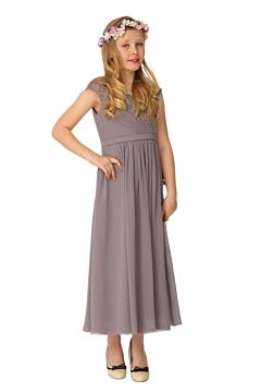LANICO KID/JUNIOR Lovely Regular Straps Criss-Cross Style Flower Girl Dress Junior Bridesmaids Dress-LN2002JN