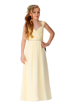 LANICO sweetheart neckline Junior bridesmaid dress -LN2071JN