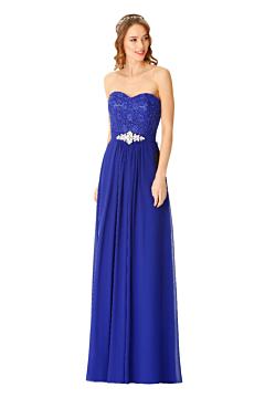 LANICO beautiful strapless A line bridesmaid dress - LN901